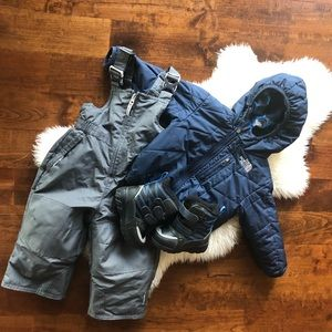 Full winter gear size 18m north Face